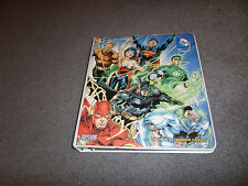 DC COMICS THE NEW 52 TRADING CARD SET + BINDER + SHEETS + 9 CARD CHASE SET