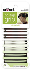 No Slip Grip Open Center Stay Tight Barrettes Assorted Colors 6 Count