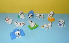 Disney 101 Dalmatians Applause Puppies Puppy Dogs Pvc Figures Bucket & Hay
