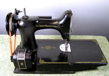 Vintage Singer Featherweight Sewing Machine #221-1, Plus Accessories& Case