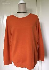 New Ladies Orange Jumper Size 26