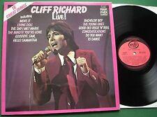 Cliff Richard Live inc Bachelor Boy & Congratulations + MFP 50307 1972 LP