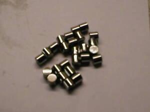 1/4 x 1/4  +1 oversize steel roller BSA Norton Triumph Qty 10 pieces