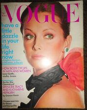 Vintage Vogue 1971 Yves Saint Laurent Irving Penn Marisa Berenson Deneuve Horst