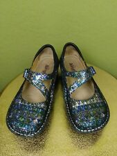 Alegria Jill 321 Multi-Colored Mary Jane Comfort Shoes Women's Size 39 EU 9 US