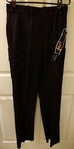 Flying Cross Fashion Fit women's Blue uniform work pants size 6 Reg unhemmed New