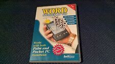 WORD GAMES TO GO For Palm OS or Pocket PC