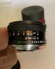 YASHICA LENS ML 50 mm 1:2  R10