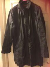 "Debenhams,John Richard, coat/jacket,Black,looks like wax,size M,42""Cotton+M/wash"