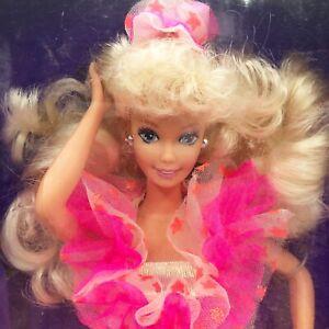 Wal-Mart Superstar Barbie Doll Blonde Pink Dress 1993 Special Edition NRFB