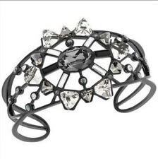 NIB Authentic Swarovski Brunette Cuff/Bracelet, Size Medium 5083562 MSRP $150