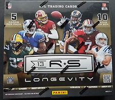 Panini Rookies & Stars Longevity Football Box NFL 2013 (4 Autos or Mem per Box!)