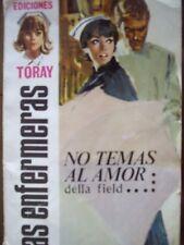 """LOTE DE 10 NOVELAS ROMANTICAS ANTIGUAS AÑOS 60 """"LAS ENFERMERAS"""""""