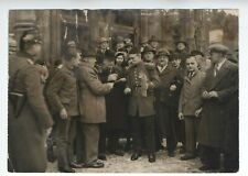 ORIGINAL KING OF ALBANIA PHOTO OTTO WITTE IN COURT BERLIN IN UNIFORM VINTAGE
