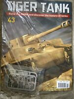 1/16 HACHETTE BUILD YOUR OWN TIGER MODEL TANK ISSUE 43 INC PART