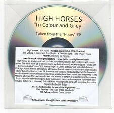 (FC60) High Horses, In Colour and Grey - 2014 DJ CD