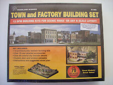 Woodland Scenics #S1485 Town and Factory Building Set®