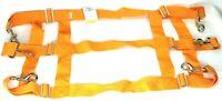 "Horse & Rider Brand Orange Adjustable Nylon Stall Webbing 39-48"""