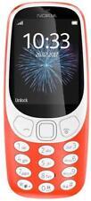 Nokia 3310 (2017) Dual-SIM Orange Tastenhandy, Tastatur Handy, Mobiltelefon