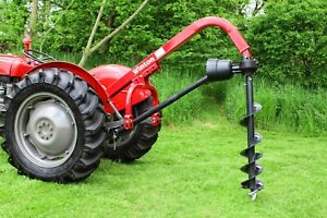 WHB12 - 12″ Post Hole Borer - For Compact Tractors