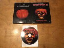 Halloween II (2) Blu ray*Film Connect*Region B/Pal*Eyes Light Up*Steelbook*OOP*
