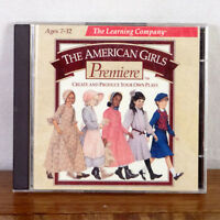 American Girl Premiere Learning Co. Create Your Own Plays Win/MAC PC game 1997