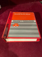 Vintage Massey Ferguson Tractor Service Manual Models 255265275