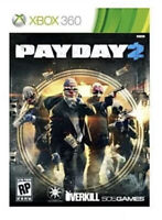 Payday 2 Xbox 360 Game Disc Only 64z Pay Day II