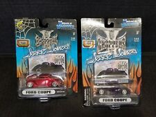 Jesse James Ford Coupe West Coast Choppers 1:64 Diecast Model 2 Car Lot NEW