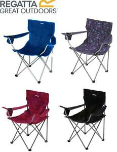 Regatta Isla Lightweight Folding Camping Chair Packable Portable Fishing Garden