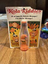 Kola Liddle Kiddles Je M'appelle OrAnge  Doll in Package Mattel Vintage 1967