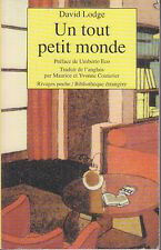C1 ANGLETERRE David LODGE Un Tout Petit Monde POCHE Umberto ECCO Universite