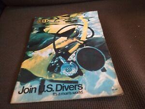 Vintage 1969 U. S. Divers Company Catalog Aqualung Diving Equipment
