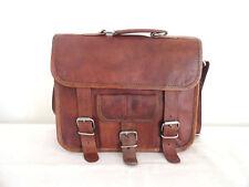 Bag Handmade Leather Men Shoulder S Messenger Satchel Cross body Carry on Bag