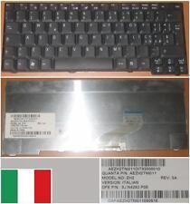 Qwerty Keyboard Italian ACER TM3000 3000 ZH2 9J.N4282.P0E AEZH2TNI011 Black