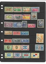 Guatemala - Air Stamps on A4 stockcard - Mint & Used