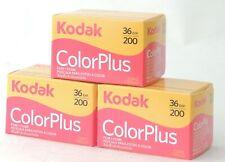 FRESH KODAK COLOURPLUS NEGATIVE 200asa 35mm 36 Exp FILM X 3 ROLLS - DATED 06/22