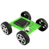 KE_ AU_ BU_ BH_ DIY Solar Panel Powered Car Vehicle Model Kids Science Educati