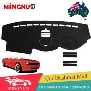 NEW Car Dashmat Dashboard Sun Cover Dash Mat Pad Fit Holden Captiva 7 2006~2018