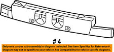 Dodge CHRYSLER OEM 11-16 Journey Bumper Face-Foam Impact Absorber Bar 68079840AB