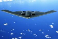 New 5x7 Photo: Northrop Grumman B2 Spirit Stealth Bomber Fighter Aircraft