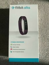 Fitbit Alta Small Activity Tracker - Black plus Free Metal Band & Clasp