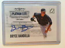 2014 Onyx Platinum Elite #PE-BB Blue Bryce Bandilla Auto /200