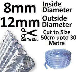 PVC Tube Clear Plastic Hose Pipe Fuel Oil Water Car Aquariums Air Water