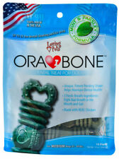 Ora Bone Dental Treats for Dogs Help fight bad breath in your dogs mouth Medium