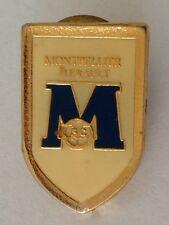 Montpellier Herault Sports Club Soccer Football Pin Badge Rare Vintage (G9)