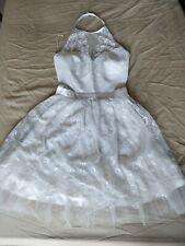 Ariana Grande Lipsy Gorgeous White Lace dress Size 4
