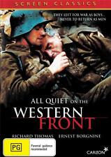 ALL QUIET ON THE WESTERN FRONT -AUSSIE RELEASE VERSION - NEW DVD FREE LOCAL POST