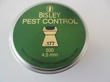 Bisley pest control .177 - 4.5 mm 1 pack of 50 pellets sample pack.