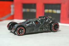 Hot Wheels 2016 Dark Knight The Tumbler Batmobile - Black w/ Red - Loose - 1:64